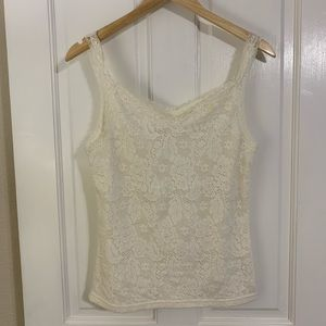 Faded Glory lace tank top